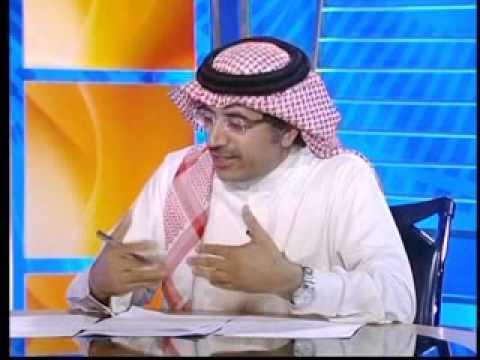 الكاتب والصحفي السعودي سليمان العقيلي مع الناشطة البحرينية د. منيرة فخرو ضيفا برنامج حديث الخليج