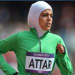 السعودية عطار تحتل المرتبة الأخيرة في سباق800 متر