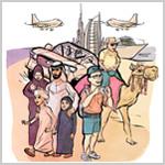 ٪15 حصة دبي من السياح القادمين إلى المنطقة