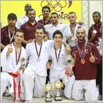 ختام رائع لبطولة قطر الدولية للكاراتيه