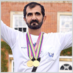 قصيدة لمحمد بن راشد تتغنى بإنجازات الإمارات في بطولة العالم للقدرة