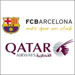 """""""الخطوط الجوية القطرية""""على قميص برشلونة"""