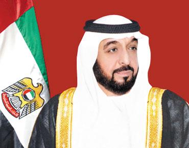 الشيخ خليفة بن زايد يأمر بأن يكون الـ 30 نوفمبر من كل عام يوما للشهيد واجازة رسمية على مستوى الدولة