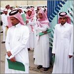 معدل البطالة بين الذكور السعوديين الأقل على مدى 13 عاما