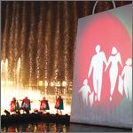 حفل انطلاق مهرجان التسوق يعرض نهضة دبي ويبهر العالم