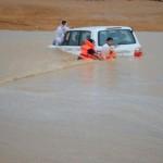 حصيلة الأمطار في السعودية.. وفاة 24 شخصاً و4 مفقودين وإنقاذ 6362 شخصاً