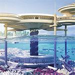دبي تشيد أكبر فندق في العالم تحت الماء.. وقطر تبني أول فندق عائم