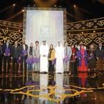 عبدالله بن زايد يشهد تكريم الفائزين بجائزة البردة في دورتها الحادية عشرة