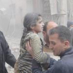 طائرات الأسد تعاود قصف حلب بالبراميل المتفجرة وتسقط عشرات الشهداء