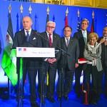 اجتماع باريس: استبعاد الأسد… والحل السياسي عبر «جنيف 2»