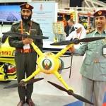 دبي: الدفاع المدني يطلق «مفتش طائر» لمراقبة مستودعات و صناعية دبي
