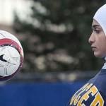 السماح بارتداء الحجاب خلال مباريات كرة القدم