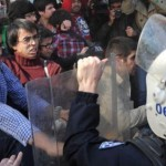 عنف عقب تشييع قتيل تظاهرات إسطنبول