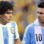 انريكي: ميسي لن يصبح أبدا مثل مارادونا