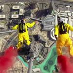 بالفيديو: تسجيل رقم قياسي جديد لقفزة ثنائية من قمة برج خليفة