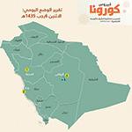 «الصحة السعودية» تسجل 5 وفيات و16 إصابة جديدة بـ«كورونا»