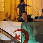 """الجزائر العاصمة تحتفل بإنجاز """"الخُضر"""""""