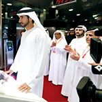 حمدان بن محمد يدشن التشغيل الرسمي لترام دبي