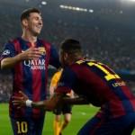 ميسي يجتاز حاجز الـ400 هدف مع برشلونة