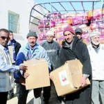 «خليفة الإنسانية» توزع مساعدات لـ 37 ألف أسرة في تونس
