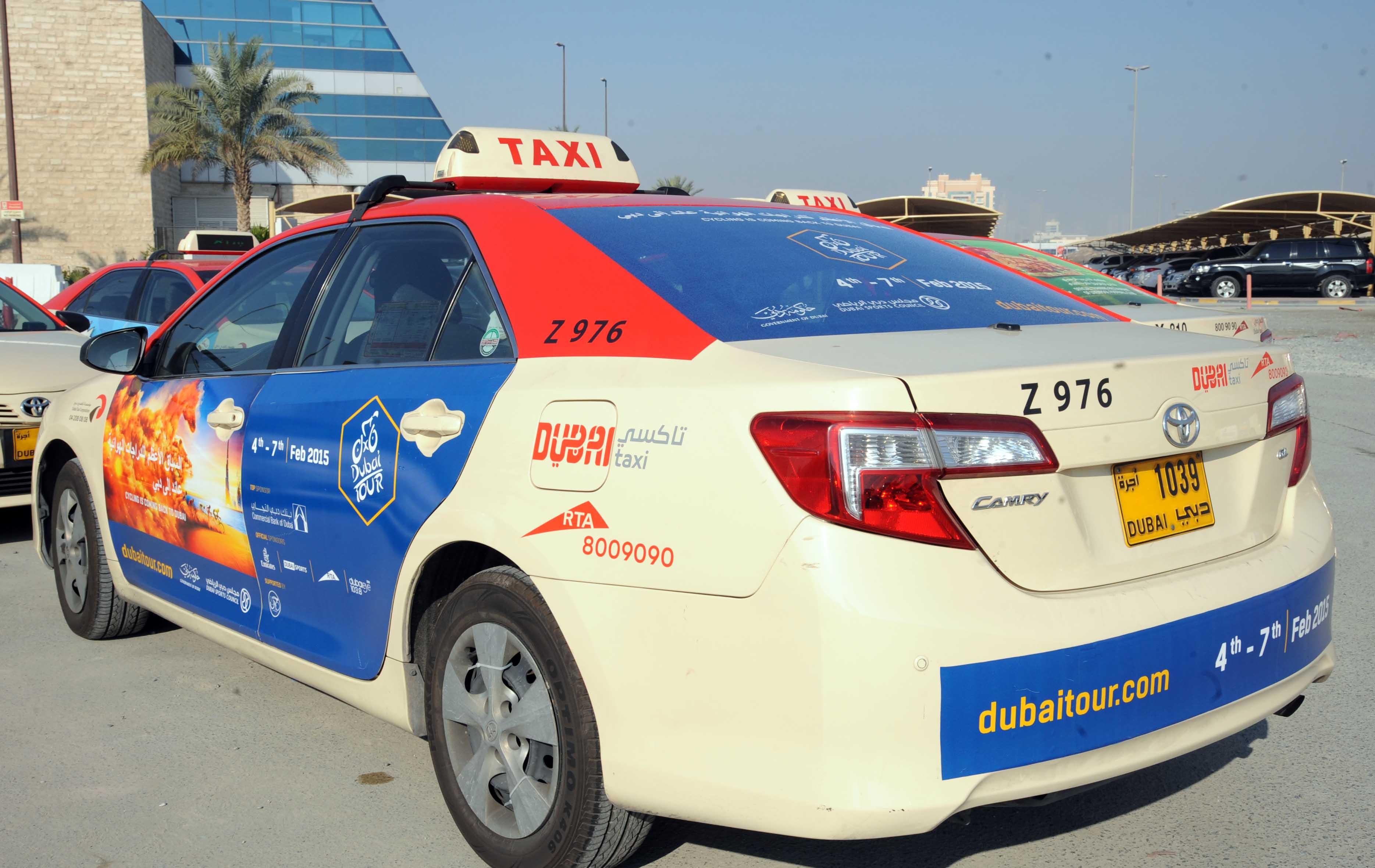 (طرق دبي) تدعو الجمهور لعدم استخدام سيارات نقل الركاب غير المرخصة