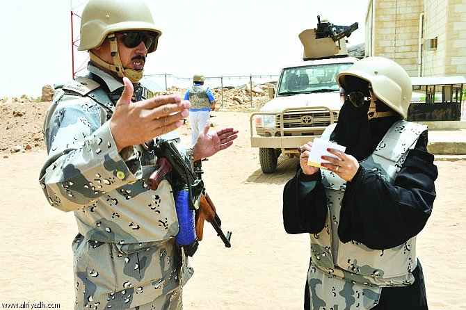 سعوديات على الحدود.. صحافيات بتفاصيل مختلفة