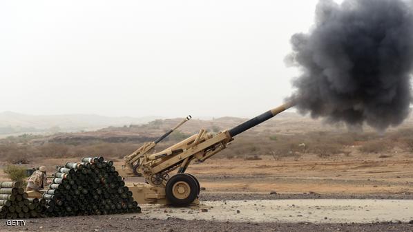 قذائف حوثية على جازان والمدفعية السعودية ترد