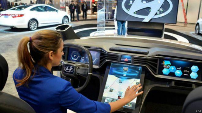 """""""هيونداي"""" تستخدم نظام غوغل أندرويد في سياراتها الجديدة"""