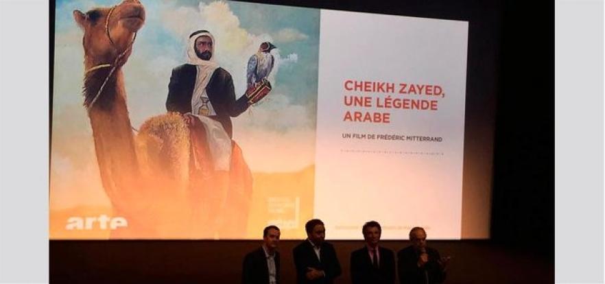 «الشيخ زايد.. أسطورة عربية» فيلم وثائقي لمخرج فرنسي