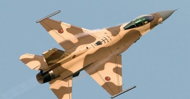 فقدان طائرة حربية مغربية من طراز إف 16 فوق الأجواء اليمنية