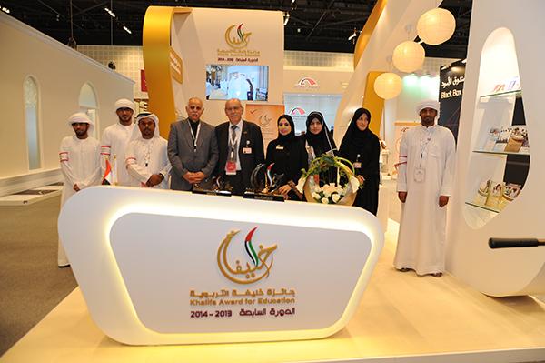 جائزة خليفة التربوية تشارك بجناح مميز في معرض أبوظبي الدولي للكتاب