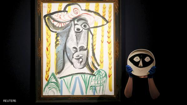لوحات تحصد 113 مليون دولار بمزاد