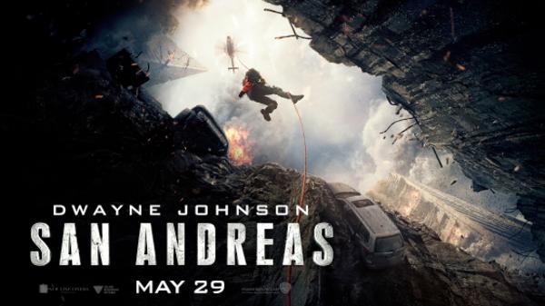 فيلم سان اندرياس يتصدر شباك التذاكر في أميركا الشمالية