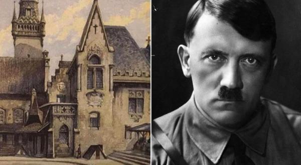 أعمال هتلر الفنية في مزاد بمدينة نورنبرغ بألمانيا
