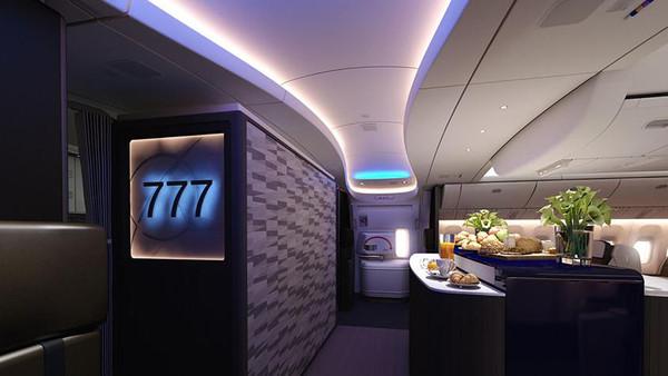 """طائرة جديدة لـ""""السعودية"""" توفر أفضل مقعد ضيافة بالعالم"""
