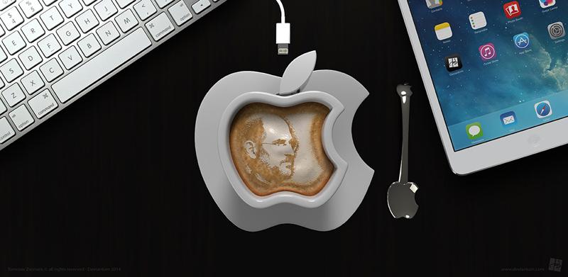 أكواب قهوة ذكية من إبداعات «آبل»
