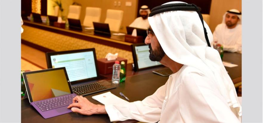 محمد بن راشد: نريد المعلم قائداً في صفه ومصدر إلهام لطلابه