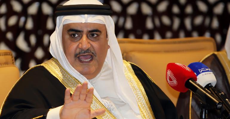 وزير خارجية البحرين: المتفجرات التي أرسلتها طهران تكفي لإزالة المنامة