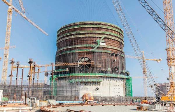 الإمارات تنفذ أكبر برنامج إنشائي نووي بالعالم