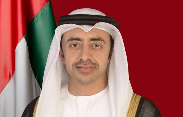 عبدالله بن زايد يتلقى اتصالا من كيري للتعزية باستشهاد 22 من جنود الإمارات
