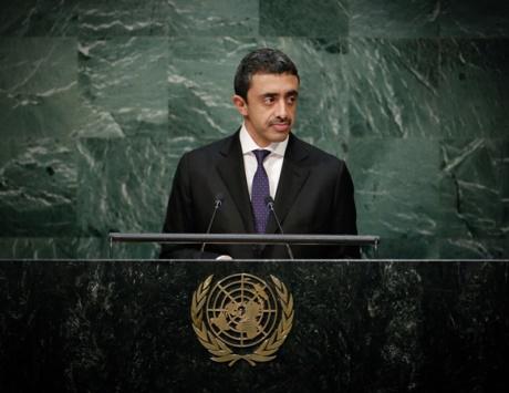 عبدالله بن زايد: الإمارات والسعودية تقفان بحزم ضد التدخلات الإيرانية