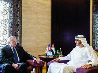 محمد بن زايد يؤكد دعم ووقوف الإمارات مع الجهود الدولية في مواجهة التنظيمات الإرهابية