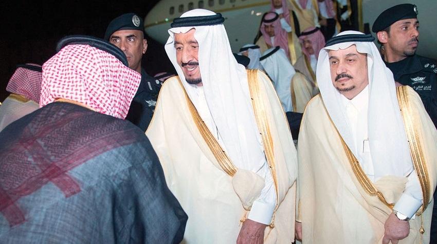 خادم الحرمين الشريفين وولي العهد يصلان إلى الرياض قادمين من جدة