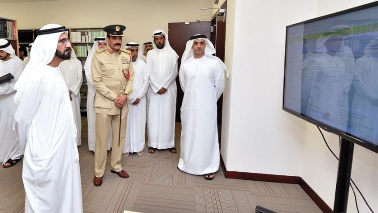 محمد بن راشد: القيادات الشرطيــة في الدولة تسهر على أمن واستقرار المجتمع وسلامة أفراده