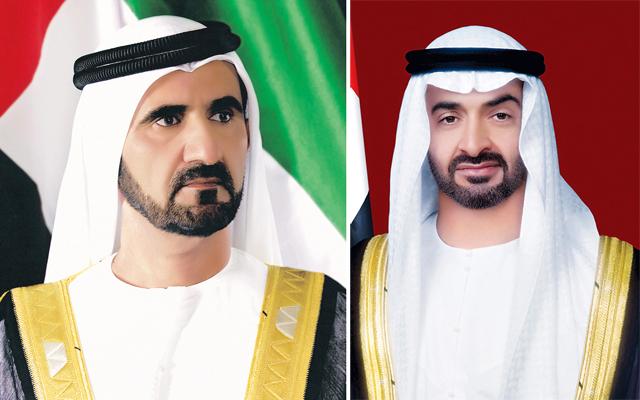محمد بن راشد ومحمد بن زايد يبحثان مع بايدن تطوير العلاقات