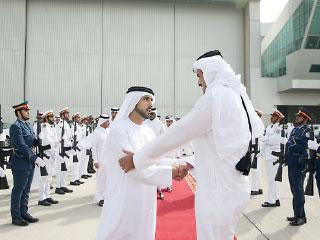 محمد بن راشد يؤكد عمق أواصر الأخوة مع قطر