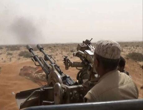 التحالف يدك الحوثيين في 8 محافظات