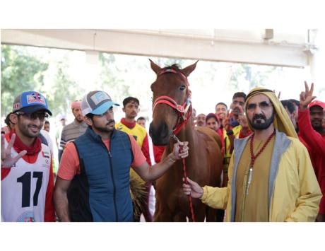 محمد بن راشد يكتب: الخيل فخر العربي ورمز للقوة والشهامة
