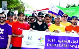 10 آلاف في مسيرة دبي العطاء من أجل التعليم