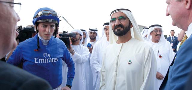 حمدان بن محمد: محمد بن راشد وضع الإمارات فوق خارطة الرياضة العالمية